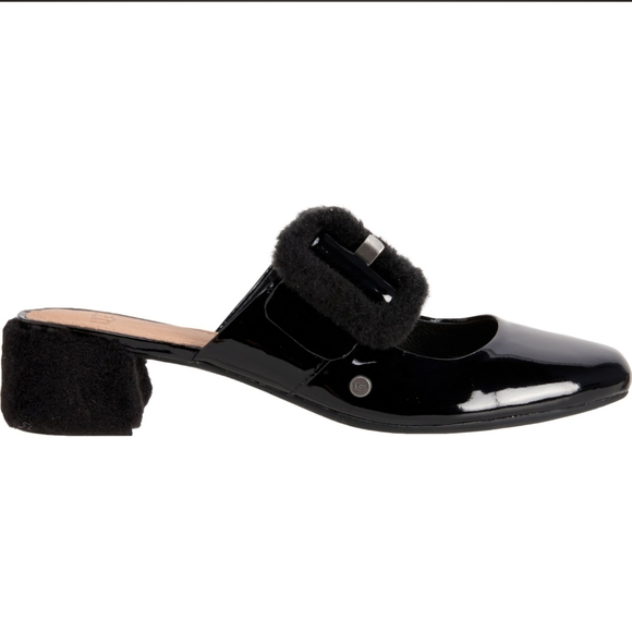 NEW UGG Hayden Mule pumps in patent leather